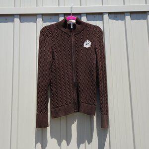 Ralph Lauren Active Zip-Up Knit Sweater